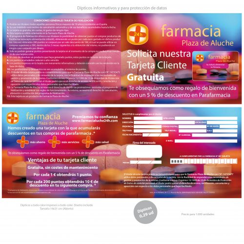 Tarifa Fidelización Farmacias 2013-06